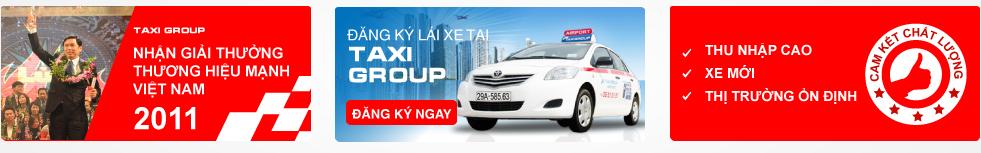 Tuyển lái xe Taxi Group làm việc tại Hà Nội