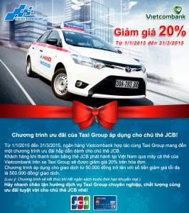 Chương trình khuyến mãi Taxi Group