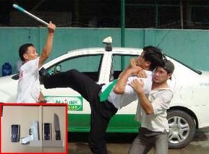 cướp taxi