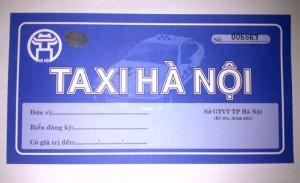 Taxi Hà Nội được thay mới phù hiệu