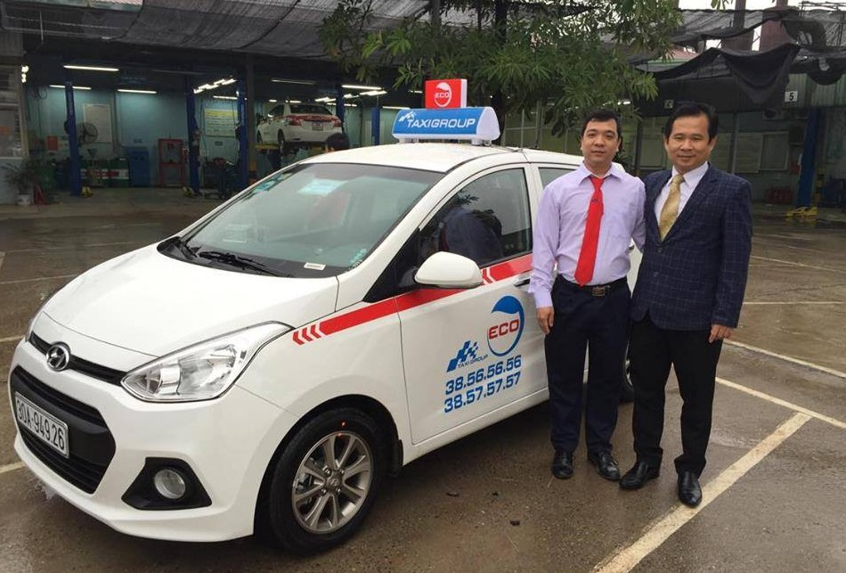 Tuyển lái xe cho dàn xe mới Taxi Group Eco